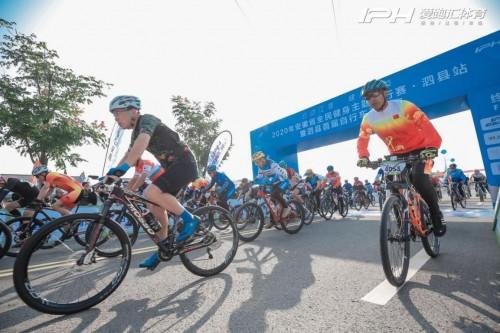 2020安徽省全民健身主题骑行赛泗县站成功举办