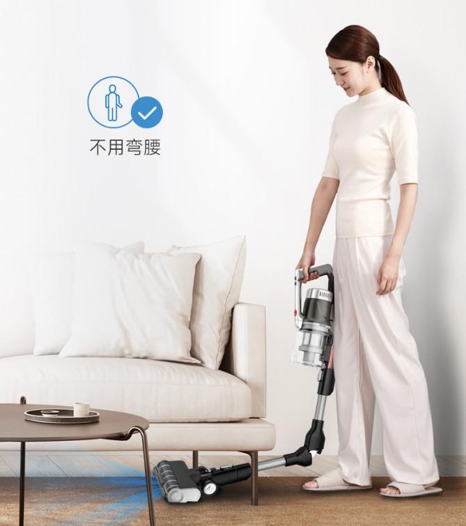 告别打扫后疲劳 这款弯折吸尘器让深度清洁易如反掌