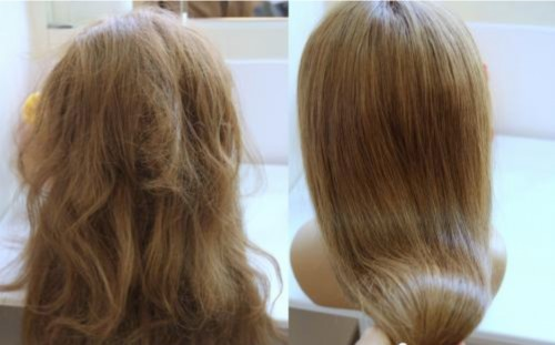 拯救稻草发女孩系列-万年枯发救星-首年华头发洗护品牌