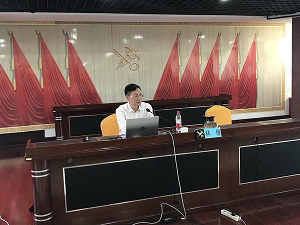 原海关总署资深法律专家林倩为全国海关法规制度建设培训班授课