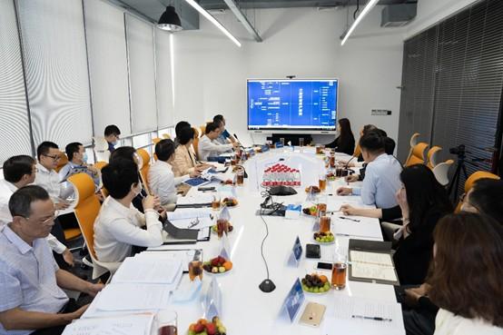 深圳市副市长聂新平率团下企业开展三维互联网调研