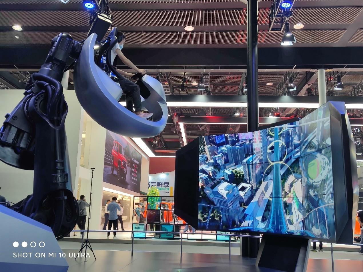 广州车展上小米10至尊纪念版拍照体验,堪比专业级相机
