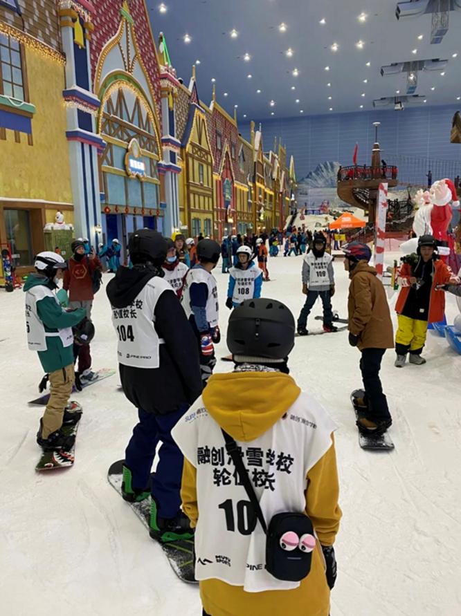 融创滑雪俱乐部年终盛典来袭,八大导师喊你来练