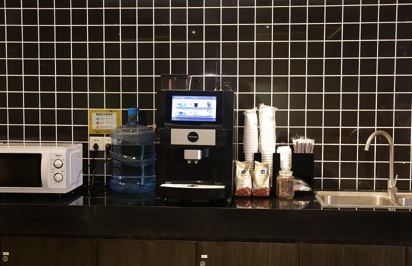 全自动办公室咖啡机,企业员工扫码咖啡机厂家