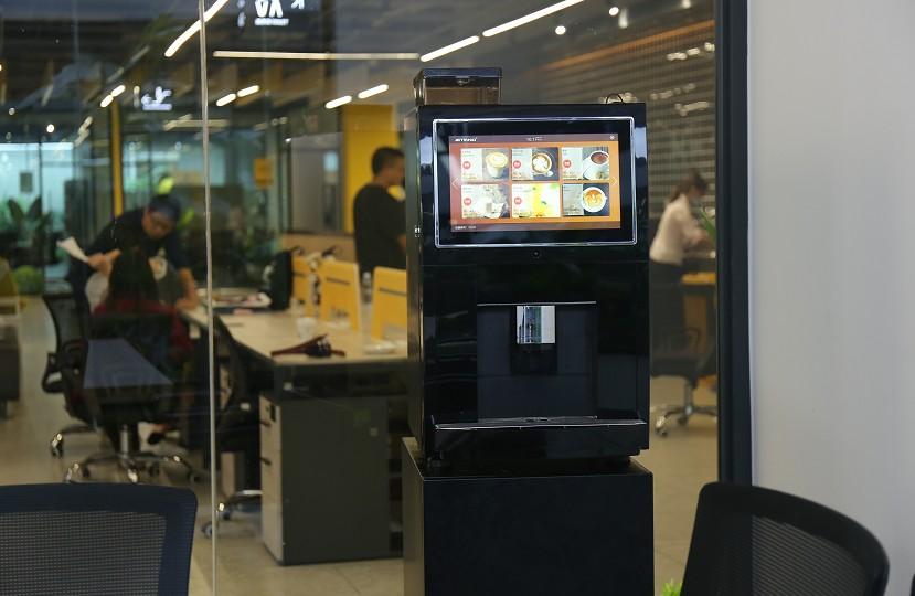 办公室全自动咖啡机哪家好,智能无人售卖咖啡机