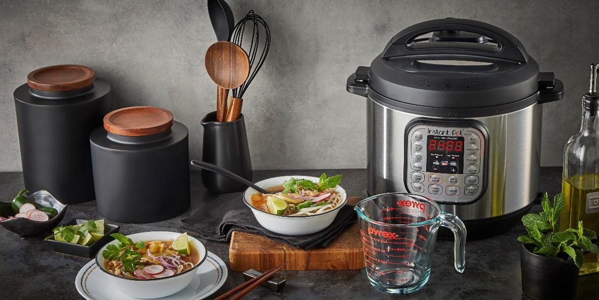 Instant Pot®饮尚宝让厨艺复兴!厨房小白也能料理宴会级美食