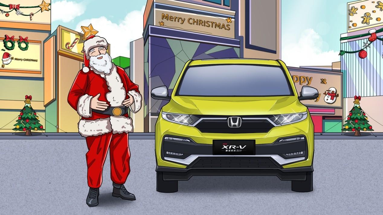 如果SUV变成了圣诞老人, 他会讨好谁?