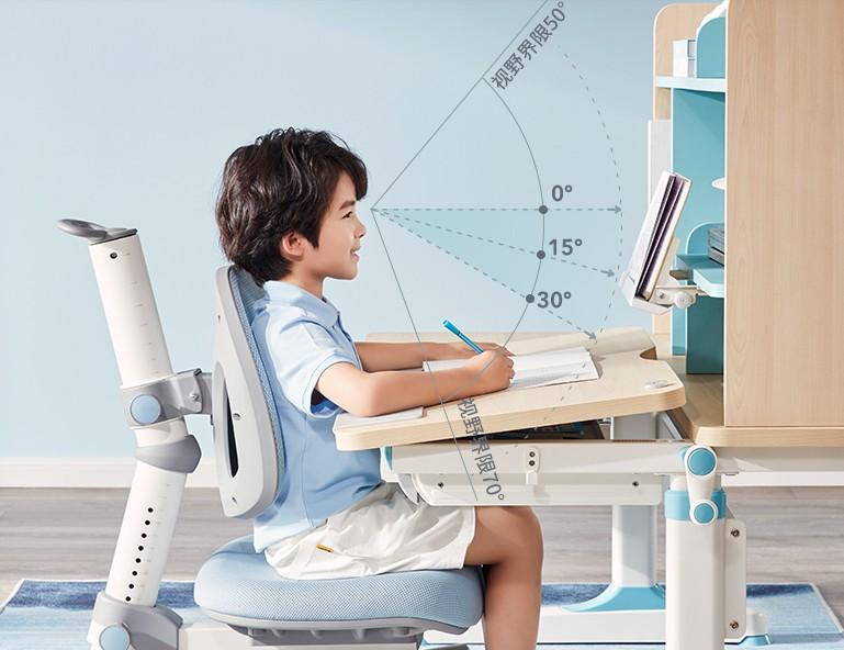 儿童脊柱侧弯高发,光明园迪学习桌帮助孩子养成良好坐姿