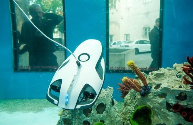 这次不是小巨蛋防水无人机,而是臻迪小海鳐