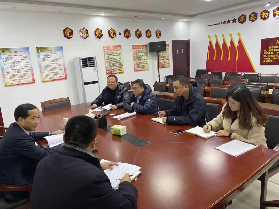 金禧国际董事局主席盘继彪一行冒雪考察安徽宿南煤层气项目