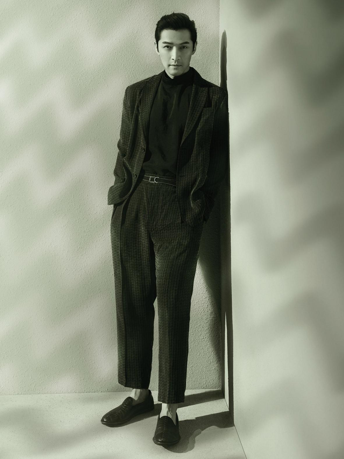 Giorgio Armani发布由全球代言人胡歌演绎的2021春夏系列广告大片