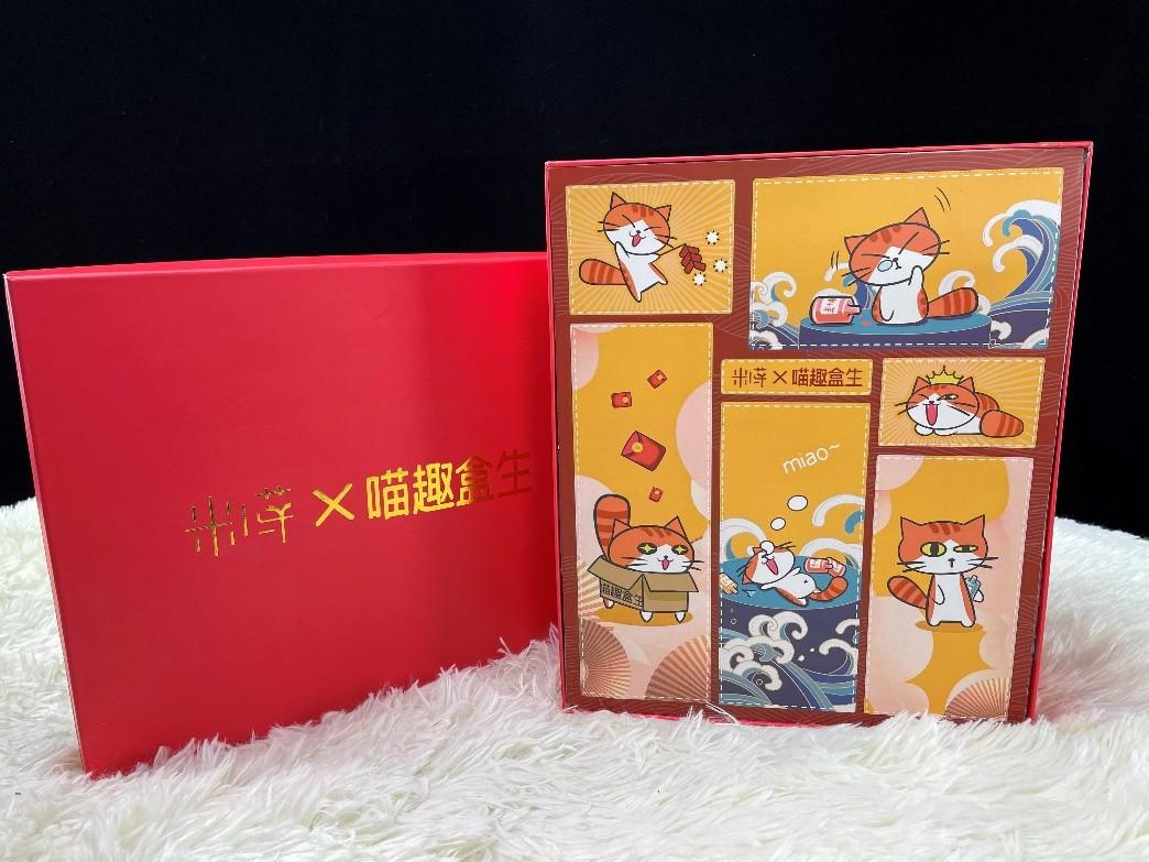 跨界盲盒新玩法,米小芽X喵趣盒生新年福袋惊喜登场