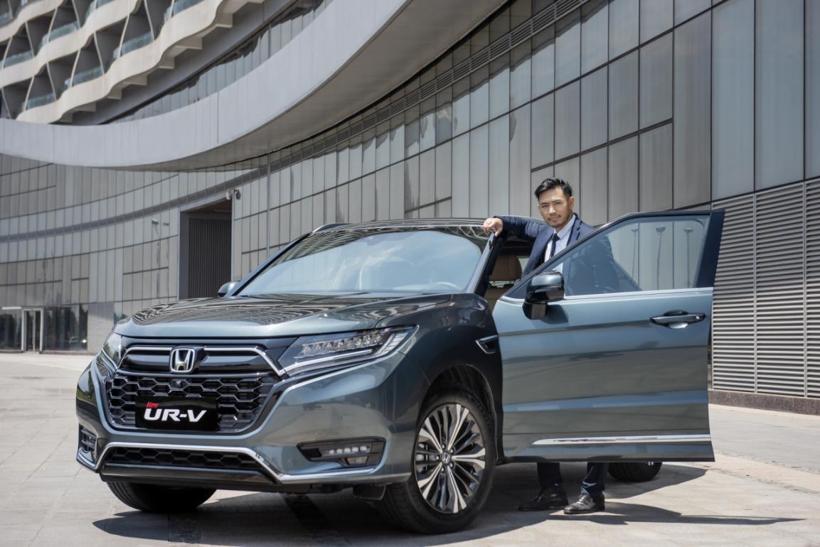 一台满足都市精英人士的高品位之车——东风Honda UR-V