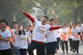 关注健康,昂立多邦▪张江快乐跑彰显公益正能量