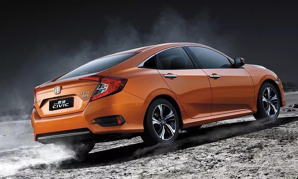 颜值在线才华出众 年轻消费者15万购车首选东风Honda全新思域