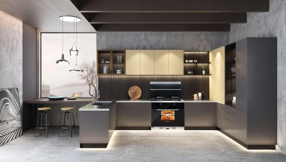蒸烤一体机品牌十大排名选森歌,开放式厨房装修也不怕油烟侵扰