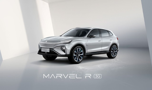 MARVEL R智能电动SUV,真5G更智能