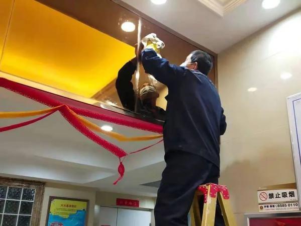 金辉物业|扮靓家园迎新春,红红火火过大年