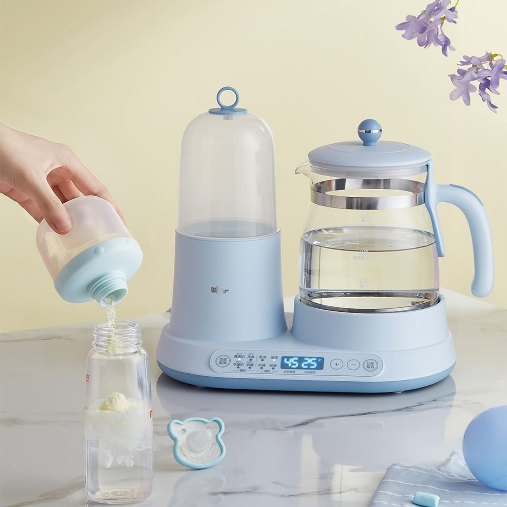 技能满满的小熊电器调奶器,让新手爸妈不再为起夜烦恼