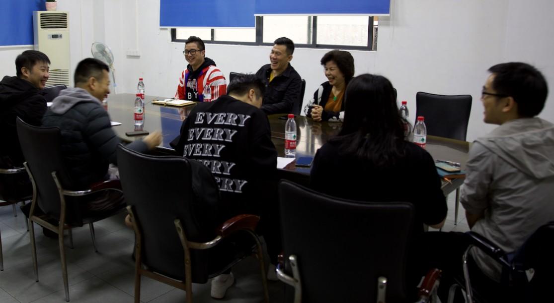 美邦服饰周成建陪同团队深入广东服装企业调研:正面困境,不离不弃!
