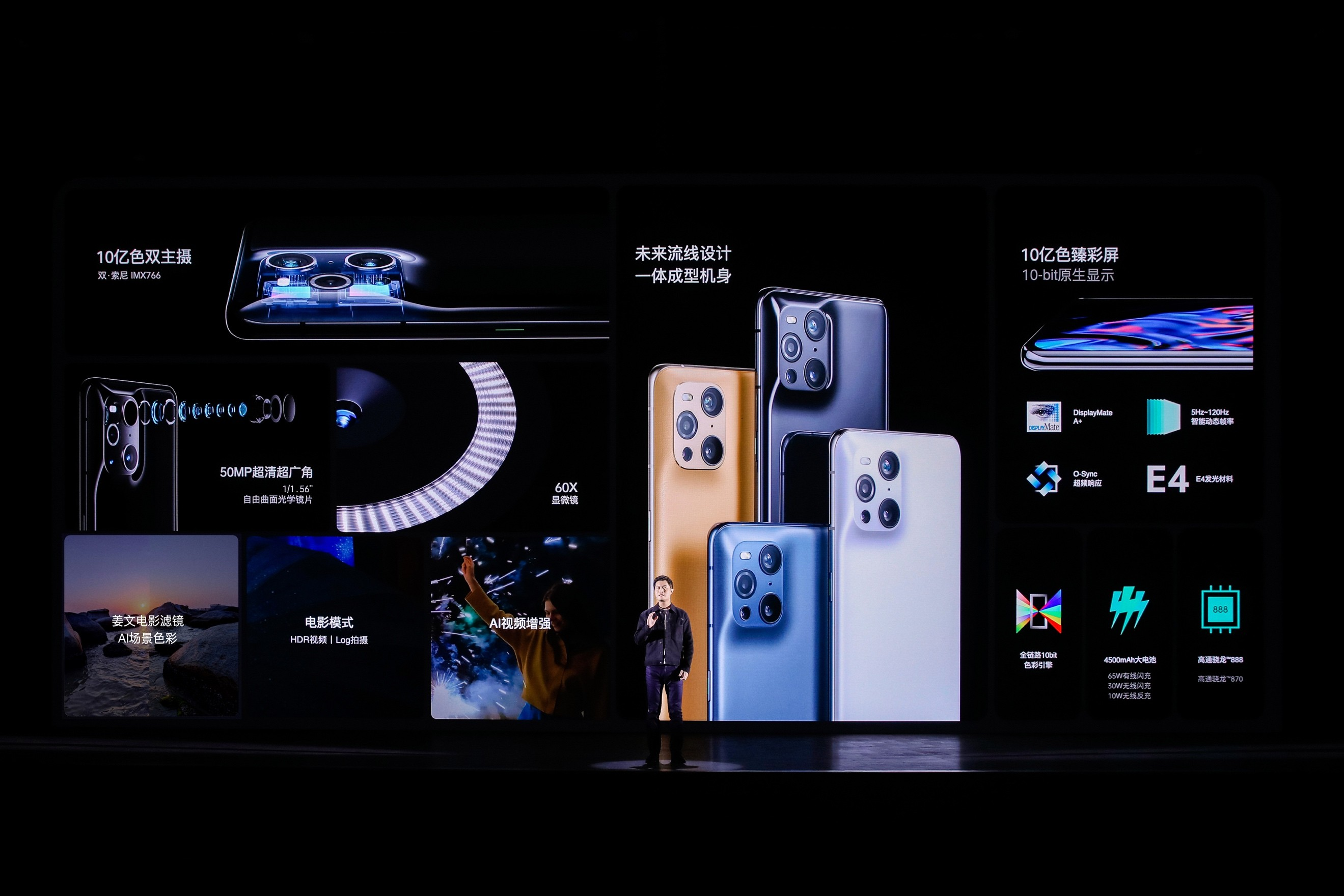 OPPO发布色彩影像旗舰Find X3系列 加速高端市场破局