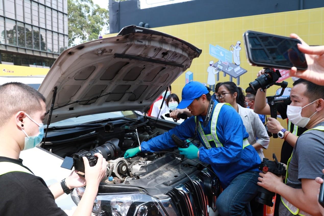 冠德石油积极响应3∙15,品质护航加油安心