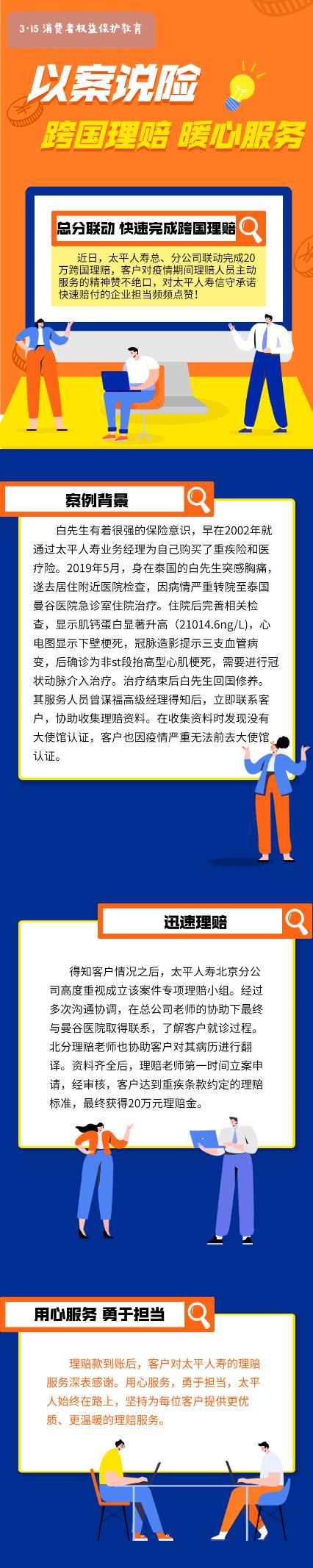 太平人寿北京分公司:以案说险 跨国理赔 暖心服务