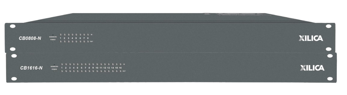 XILICA CB1616-N DANTE网络数字音频处理器