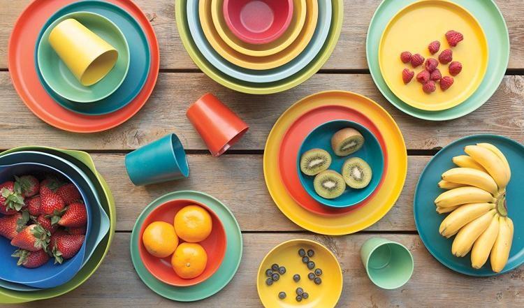 了解竹纤维餐具 把健康带上餐桌