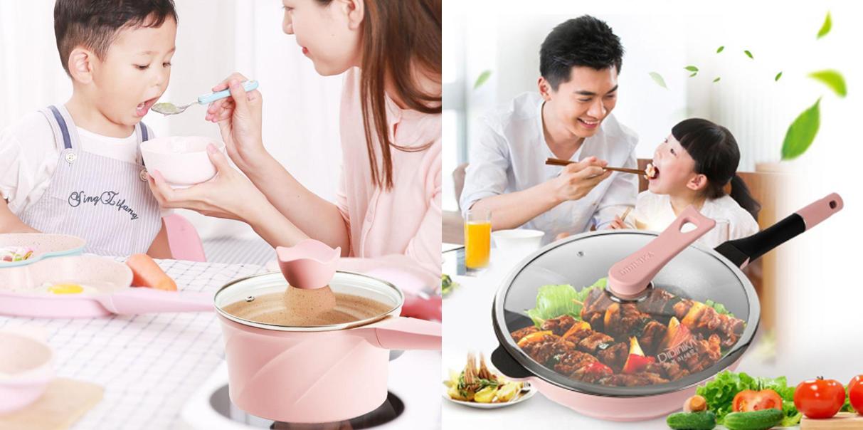 """宝妈们的厨房""""新装备""""-迪迪尼卡辅食锅系列"""
