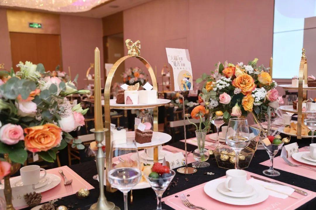 最美四月天,莎蔓莉莎重庆地区浪漫开启高阶版下午茶