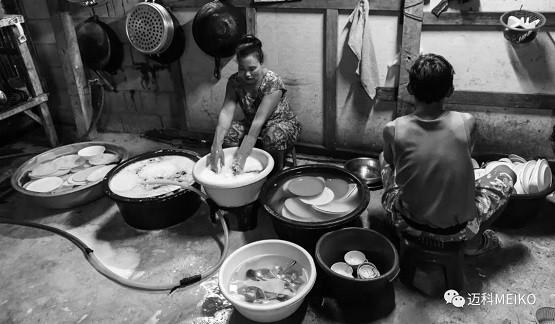 使用迈科商用洗碗机,解决洗碗间和厨房卫生难题