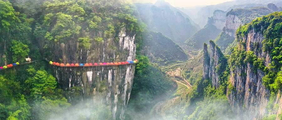 """云端上的矮寨大桥,高空露营欣赏最美的""""中国圆月亮"""""""