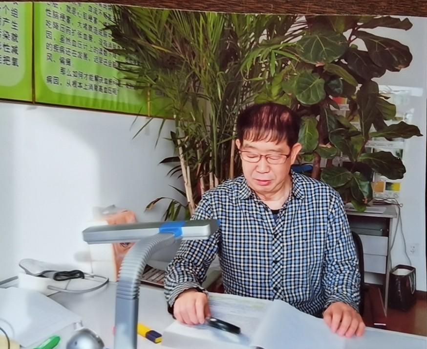 我国植物提取专家陈冲老师 为改善空气环境质量献计献策