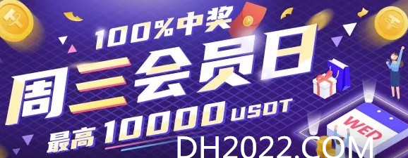 每周三来亚美 会员日最高领取10000USDT保值代币!