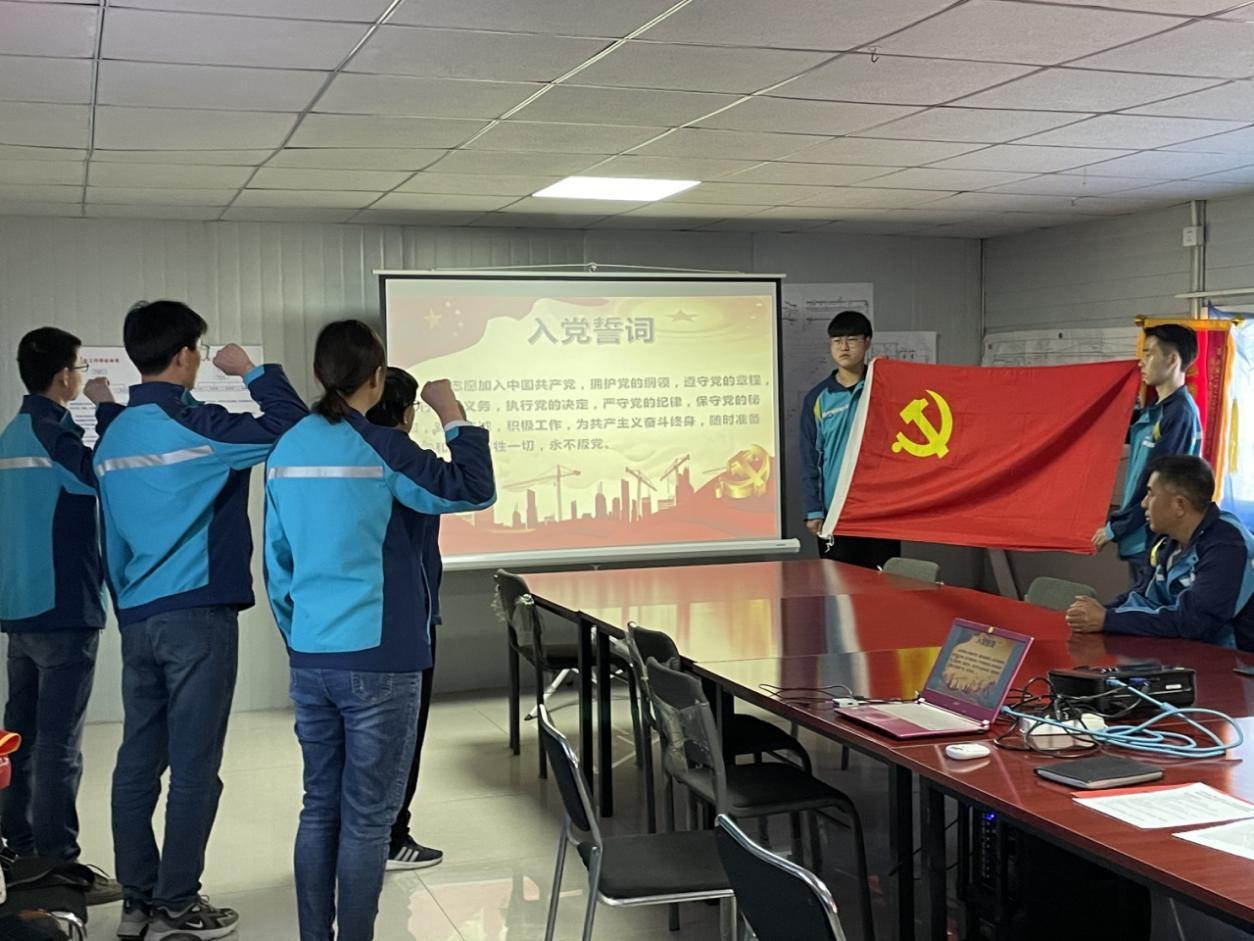 """中国二十二冶瑞丰项目举办""""百年辉煌·薪火相传""""专题企业开放日宣传活动"""