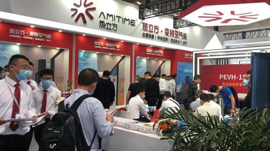 超省取暖科技,热立方新款地暖机亮相中国供热展