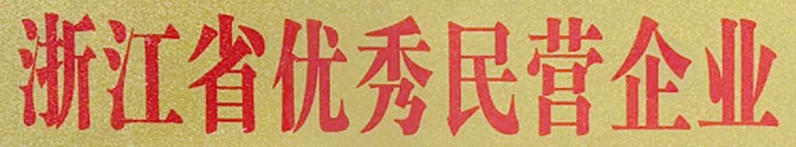 【百城集团】浙江省优秀民营企业