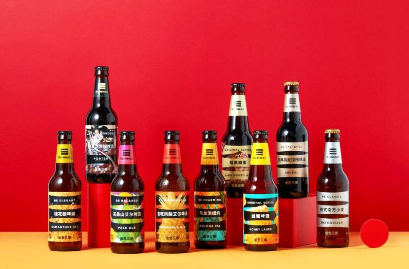 夏日限定|精酿啤酒品牌金色三麦新品荔枝拉格啤酒火热上市