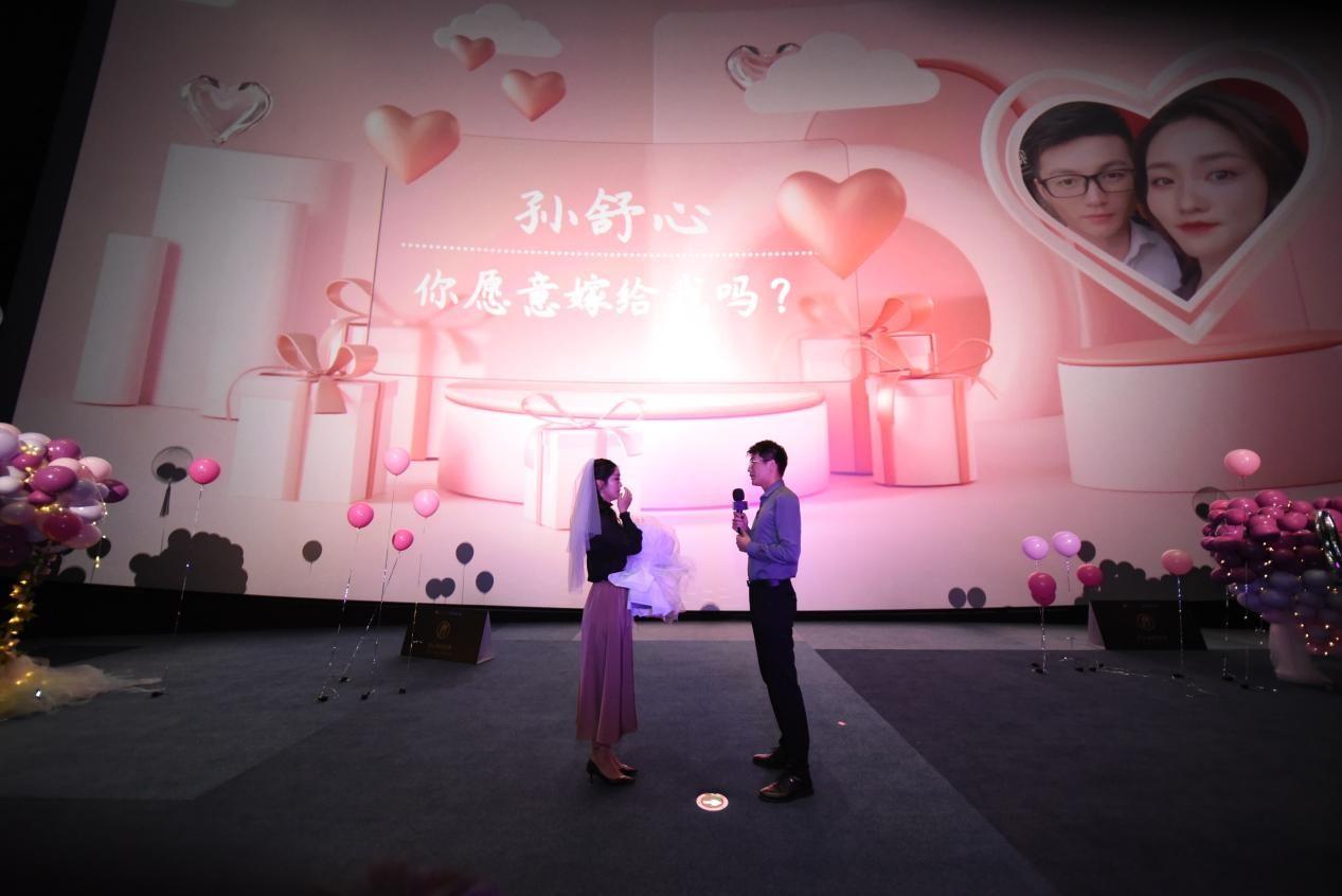 神秘嘉宾助阵求婚告白,欧拉好猫爱妻节甜蜜鹏城-第4张图片-汽车笔记网