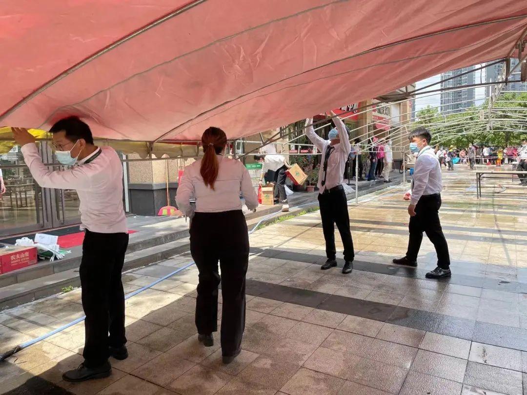 打一场合作共赢的防疫战 广州链家全力守护社区安心