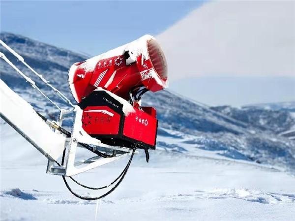 三大方向系统创新 卡宾滑雪集团造雪机凸显中国品牌竞争力