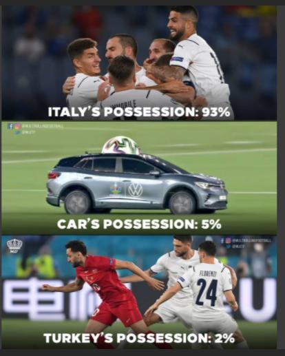 欧洲杯揭幕战里的小细节,各位JRs有没有注意到