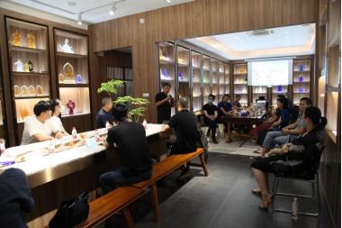 汉承琉璃承办第五次跨界琉璃工作坊体验!