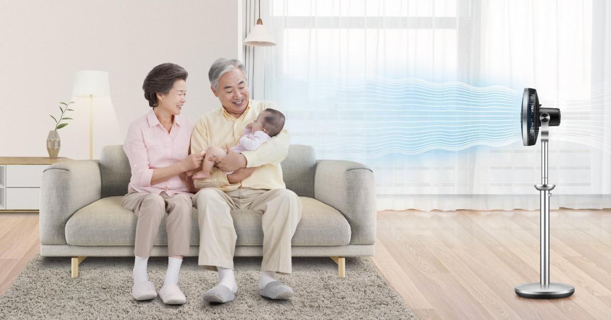 父亲节别纠结,选莱克空气调节扇父母都开心