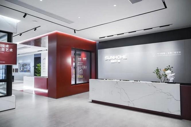 全面升级丨新豪轩门窗终端SI形象展厅,带你提前看见「未来的家」