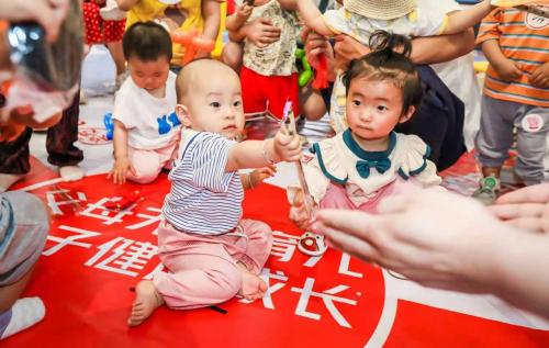 传文化印成长 乐友天津开启万人抓周盛典