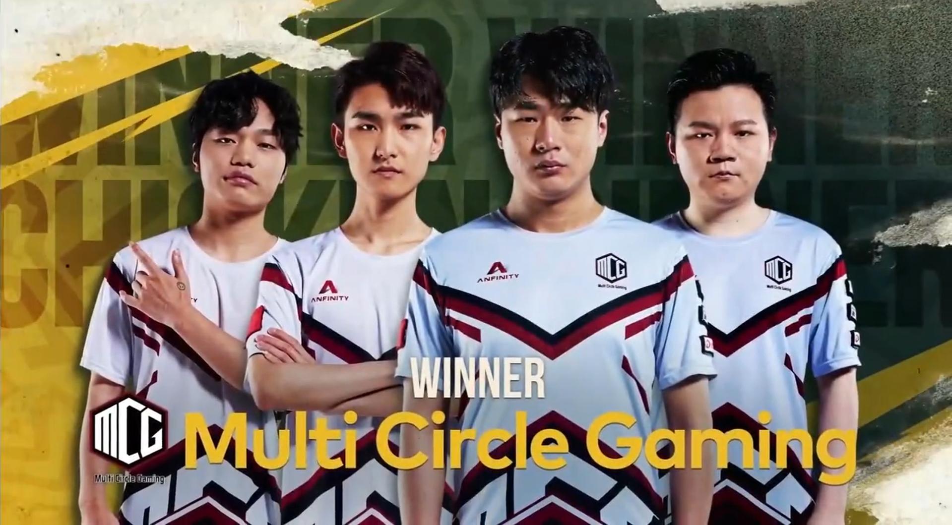 PCS4东亚洲际赛第二周战罢:PeRo战队问鼎周冠,PCL包揽前三