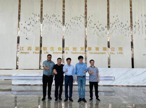 中国饮料工业协会理事长张金泽莅临菌钥大健康考察