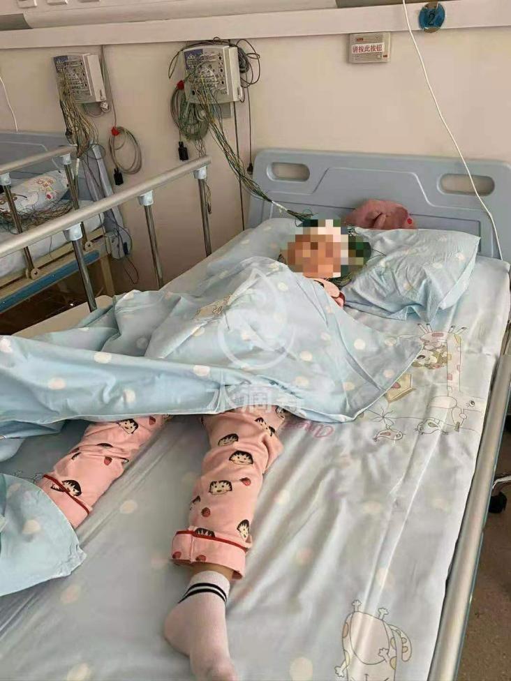 与白血病抗争的路注定漫长 水滴筹为患病女孩救治点燃希望